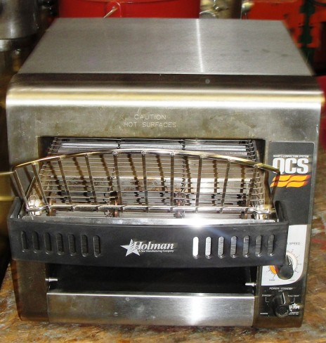 Reconditioned Holman QCS 1 350 conveyor toaster 120v