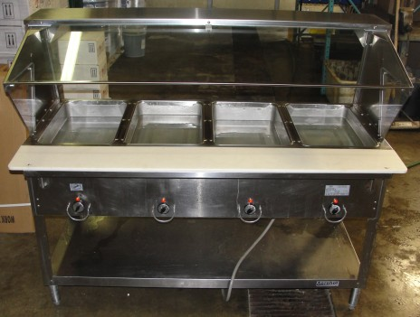 Reconditioned Duke E304M 4 well steamtable 208v 1ph