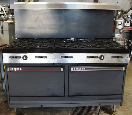 Reconditioned Garland GV284 10 Burner Gas Range (natural)