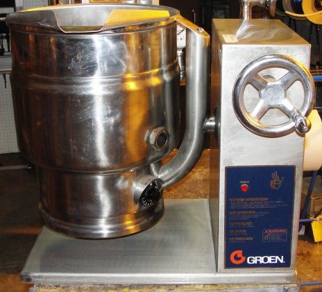 Reconditioned Groen TDBC-20 electric tilt kettle