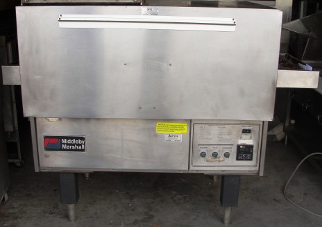 Reconditioned Middleby Marshall PS314 gas conveyor oven 208 volt single phase
