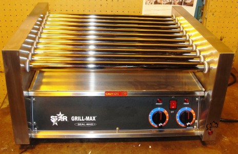 Reconditioned Star 30C hot dog roller grill 120v