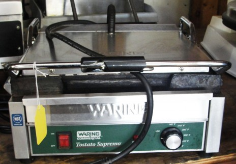 Reconditioned Waring WFG250 Sandwich Grill 120v