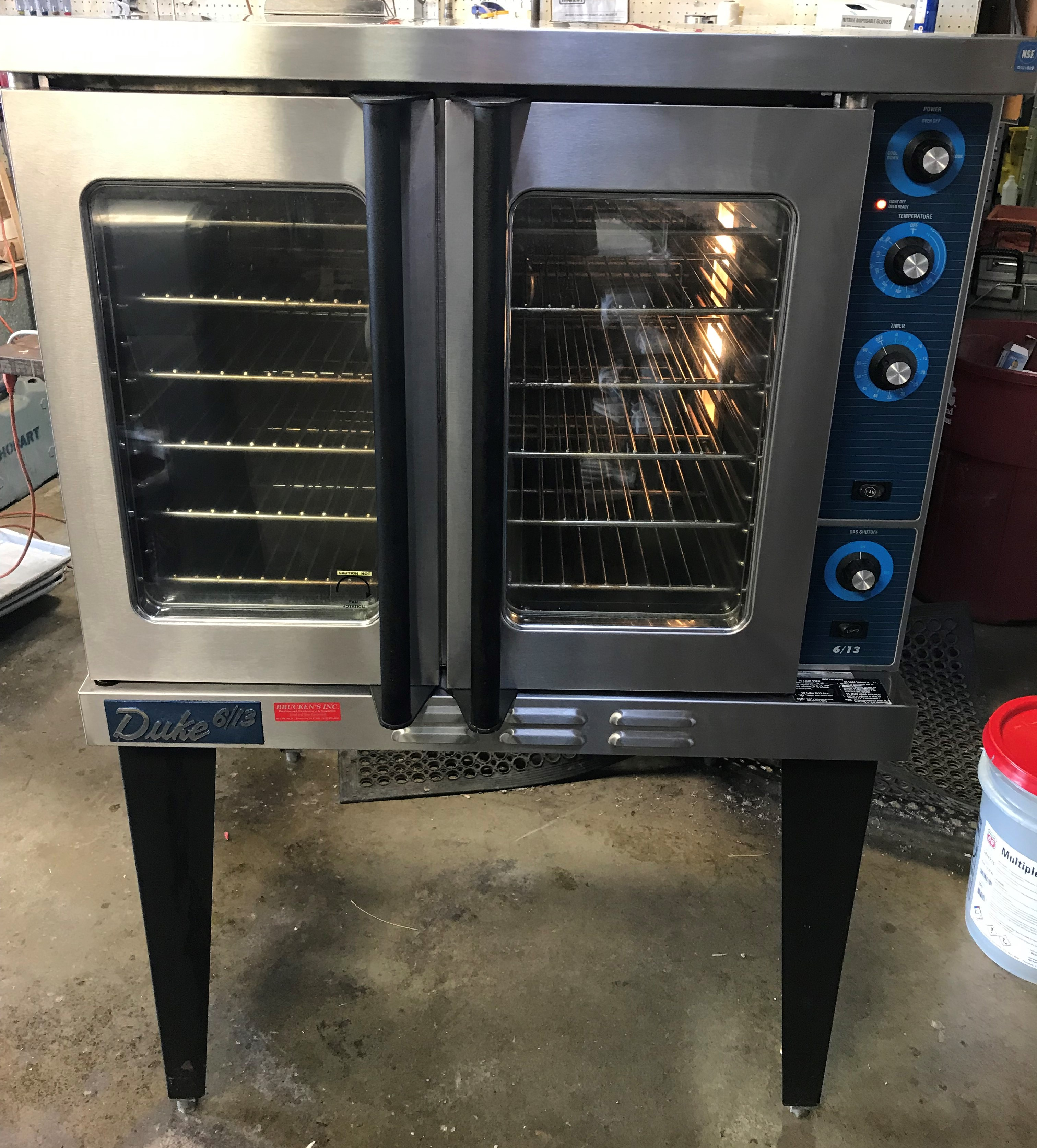 Reconditioned Duke 613 Gas Convection Oven