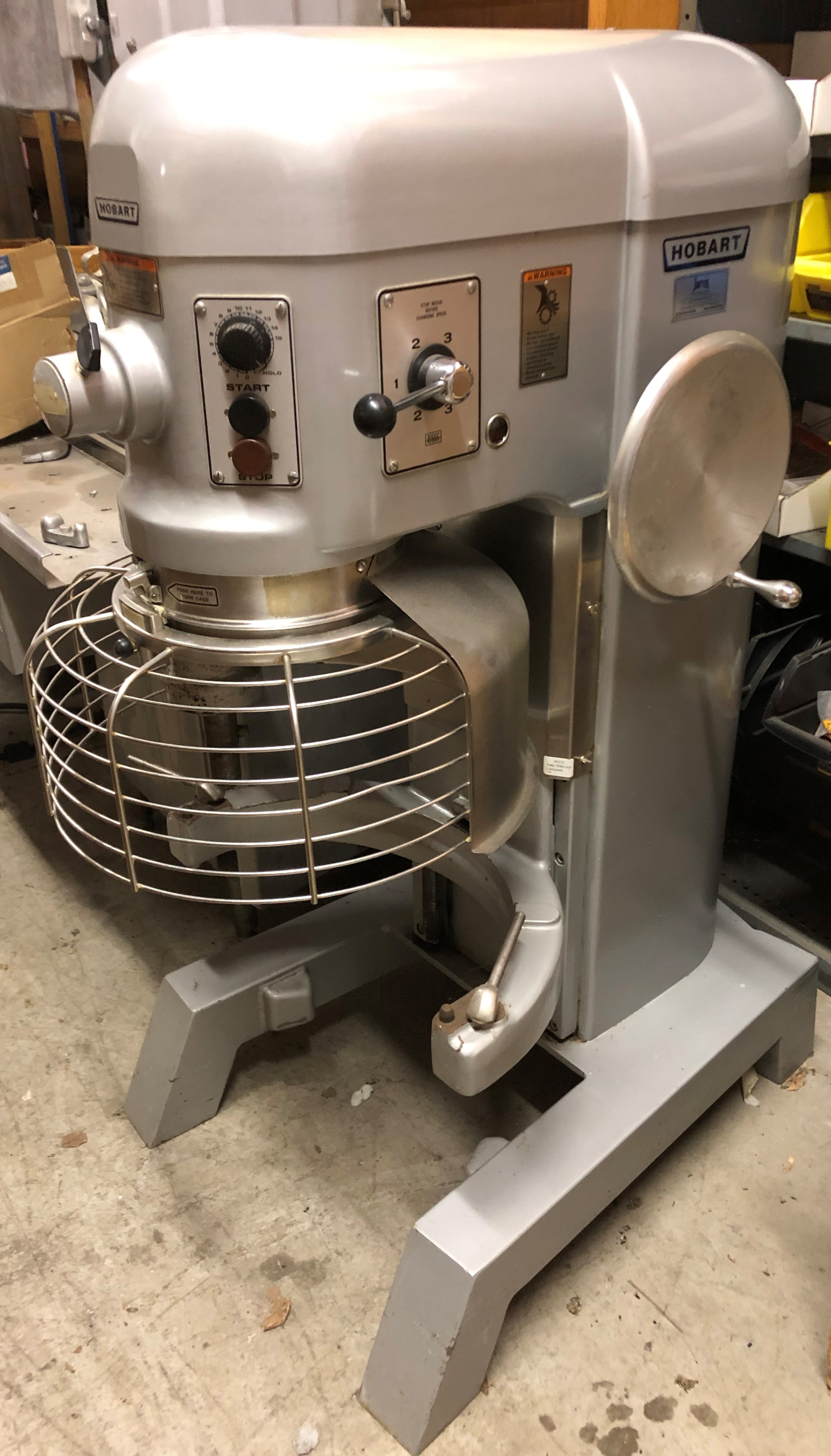 Reconditioned Hobart H600T 60qt Mixer
