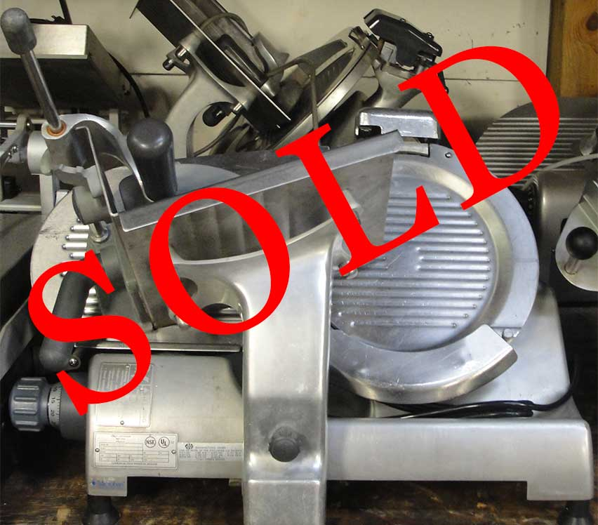 Reconditioned Hobart 2612 manual slicer